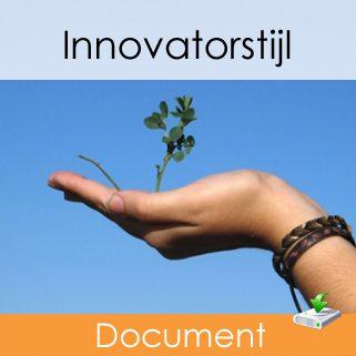 innovatorstijl