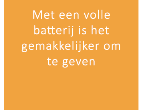 #eigenwijsheid: Batterij