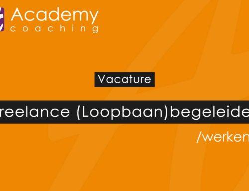 Vacature: freelance (loopbaan)begeleider
