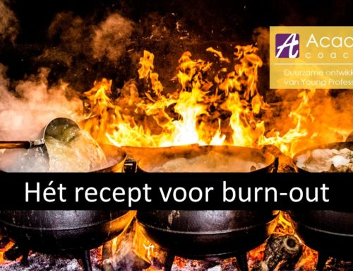 Het ideale recept voor een burnout vind je hier!
