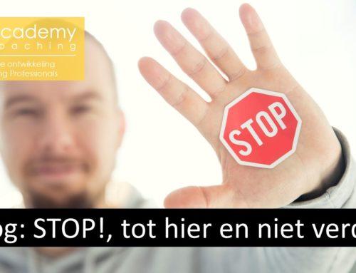 STOP! Tot hier en niet verder.