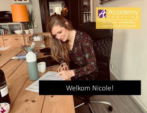 Welkom Nicole!