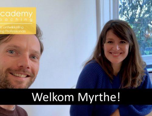 Welkom Myrthe!
