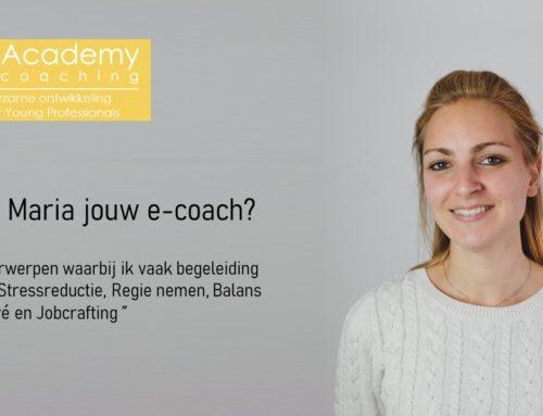 Wordt Maria jouw e-coach?
