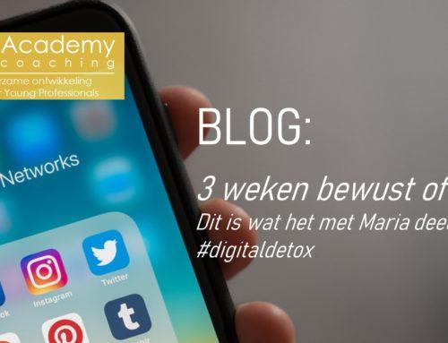 Blog: bewust offline